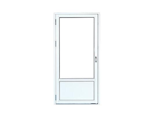 Basic 1,2 balkongdør 89x209 cm 100cm brystning høyrehengslet