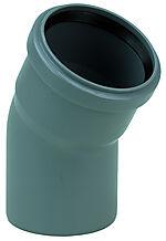 Bøy PP-Nordic 75 mm x 30° muffe
