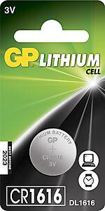 Batteri knappcelle cr 1616