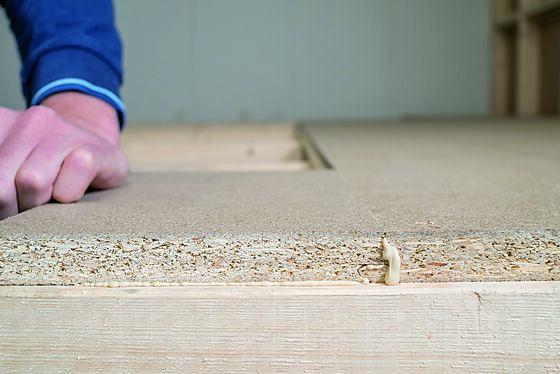 Sponplate gulv proff 22x620x1820 mm standard P6