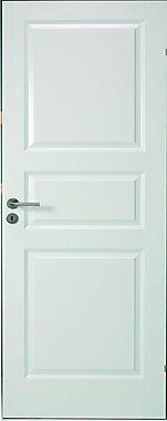 Opus Classic 3 innerdør 80x200 cm hvit