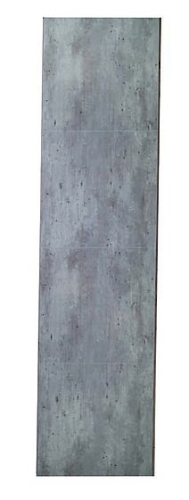 Baderomsplate 2204-M66 cracked cement 11x620x2400 mm