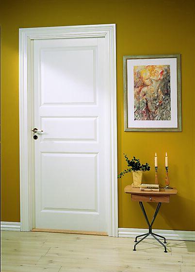 Craft 03 innerdør 90x210 cm hvit
