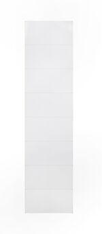 Baderomsplate 62000441 hvit snø 10x620x2400 mm