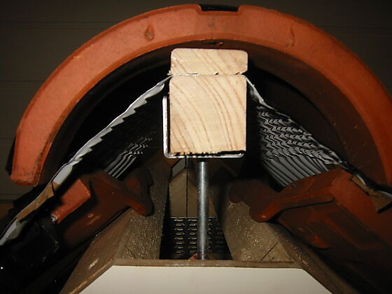 Mønebrakett skrue 36x180 mm