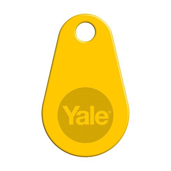 Nøkkelbrikke for Yale Doorman V2N gul