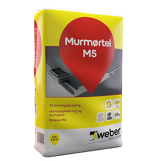Murmørtel M5 25 kg
