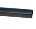nedløpsrør stål 90mm 3m sort