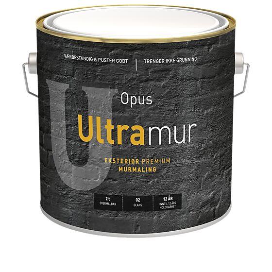 Ultramur 02 eksteriør base hvit 2,7 liter
