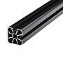 Plastmo aluminium hjørnestolpe 90° antrasittgrå for toppmontering