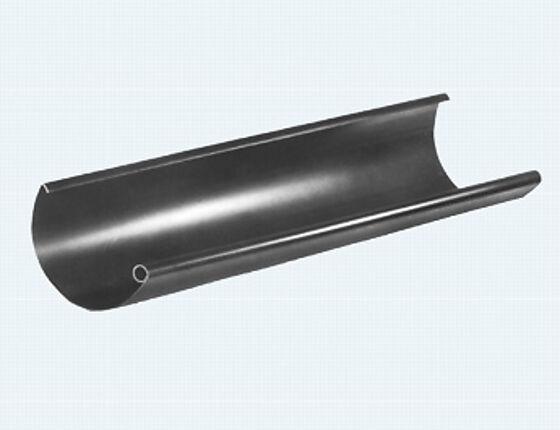 Takrenne 120 mm lengde 4 meter sort