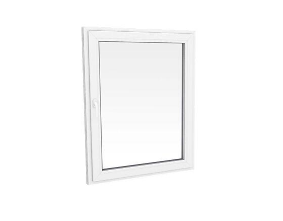 Vindu toveissvingende 990x790 mm 2-lags glass høyrehengslet