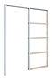 "Scanflex Pocket skyvedørskarm 4""  72,6x204cm"