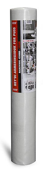 Armeringsduk for puss 50 meter maskevidde 4x4 mm