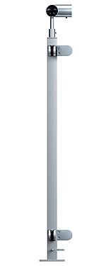 Hjørnestole Icopal glassrekkverk