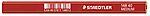 Tømmermannsblyant 25 cm rød