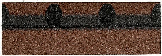 Takfot/møneplate teglrød kontur