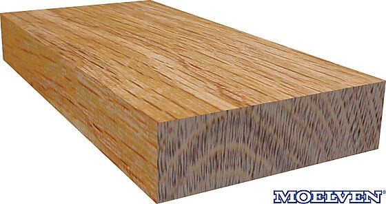 Glattkantlist 21x120 mm eik lakkert