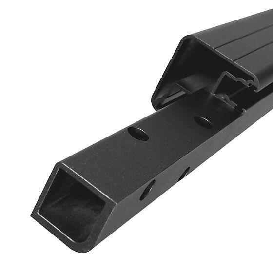 Plastmo innvendig hjørnestolpe aluminium for frontmontering antrasittgrå