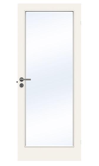 Easy glassdør 100x210 cm hvit