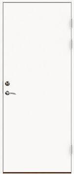 Dørsett Laminat 100X210 Venstrehengslet K1040Mat Uklassifisert Med Karm