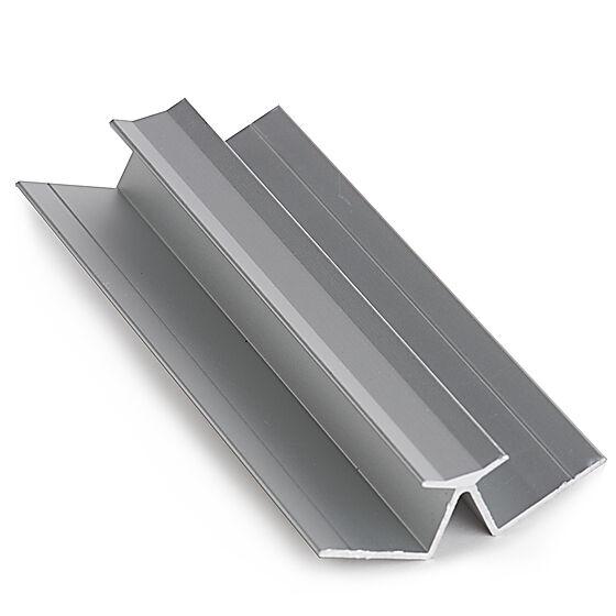 Innvendig hjørnelist 2400 mm aluminium