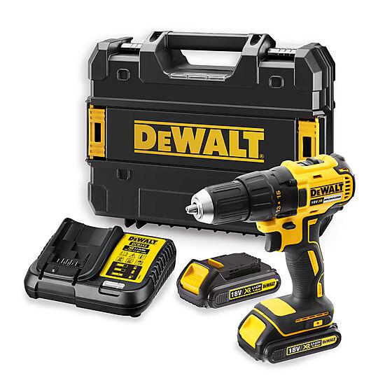 Dewalt Drill 18V DCD777S2T I TSTAK1 2X1,5AH