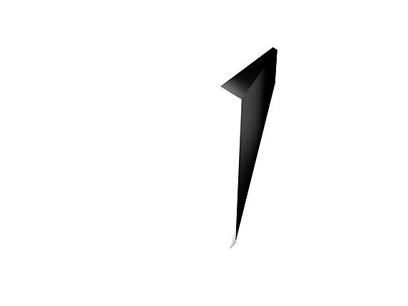 takfot l-tak stål 200mm sort