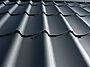 Takplate regent stål hard coat 25 svart 2550 mm