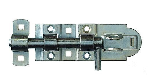 Skåte bolt lås 132 mm elforzinket