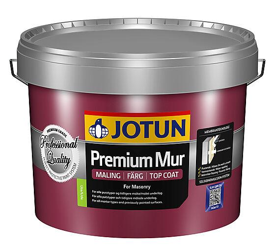 Premium mur 001 hvit 10 liter