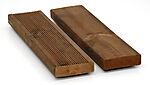 Terassebord royalimpregnert duo brun rb.10 28x95 mm furu