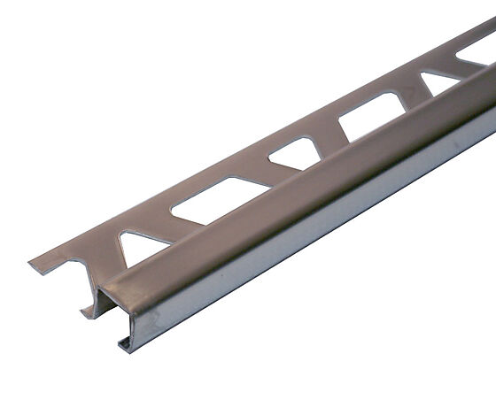Hjørnelist firkant 10 mm børstet rfr st 2,7 m squarejolly profilitec