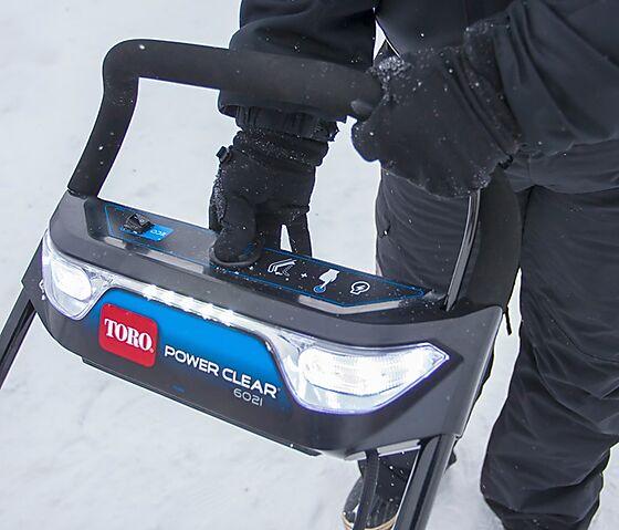 Snøfreser power cleare batteridrevet