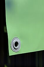 Presenning grønn PVC 5x7 meter 450 gr/m2