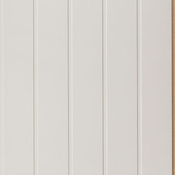 Trefiberplate Skygge Sand 11x620x2390 mm hvitmalt
