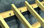 Betongskrue UC FBS II 10x100 A50 senkehode ultracut elforzinket TFIX=45/35/15