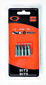 Q-tools bits philips 2 / ph2 25 mm 5 stk