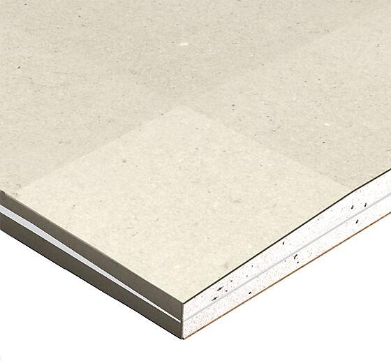 Gipsplate 12,5x1200x2400 mm standard Planum med 4 forsenkede kanter