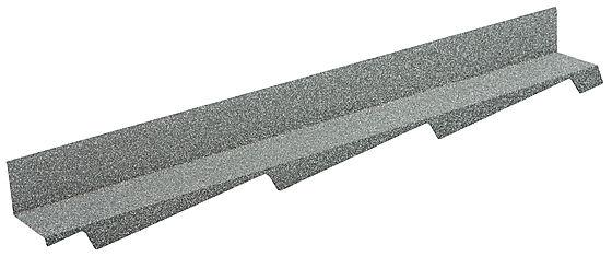 Overgangsbeslag høyre tradition plus grå 1100 mm