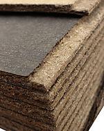 Trefiber asfalt vindtett m/fals 12x1200x2740 mm