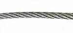 Wire 4mm 10m elforzinket