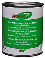Roof7 1 Kg Spann Takrep Masse Vanntett Gummiasfalt Med Glassfiber