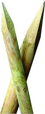 gjerdestolper 6x180 cm