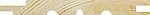 Furu 14X145 Skyggepanel med rett kant Natur