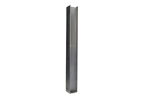 Stolpefot til stolpe ende og midt 120 cm