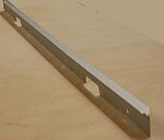 Dekklist til benkeplate PF R4 naturell aluminium 63 cm bred