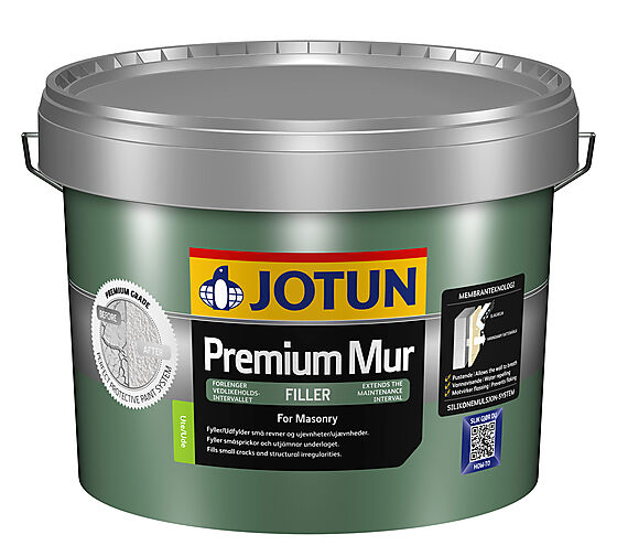 Premium mur filler 9 liter