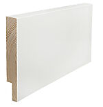 Utforing dørsett hvit furu 18 x 145 x 2100 mm S 0502-Y