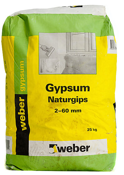 Gipspuss naturgips 25 kg